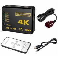 HDMI світч 5→1 VOLTRONIC YT-S HDMI4K*2K-3D