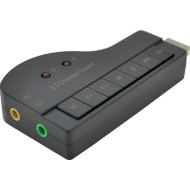 Внешняя звуковая карта VOLTRONIC USB-Sound Card (8.1) 3D sound (YT-C-8.1/7)