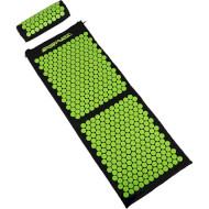 Акупунктурний килимок (аплікатор Кузнєцова) з валиком SPORTVIDA 130x50cm Black/Green (SV-HK0353)