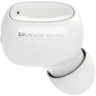 Bluetooth гарнітура BOROFONE BC28 Shiny Sound White