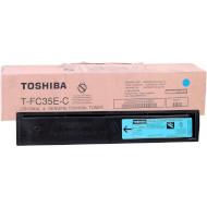Тонер-картридж TOSHIBA T-FC35E-C Cyan (6AJ00000050)