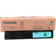 Тонер-картридж TOSHIBA T-FC25E-C Cyan (6AJ00000199)
