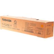 Тонер-картридж TOSHIBA T-FC25E-Y Yellow (6AJ00000202)
