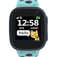 Годинник-телефон дитячий CANYON Sandy KW-34 Blue/Gray