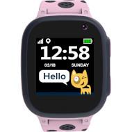 Годинник-телефон дитячий CANYON Sandy KW-34 Pink/Gray