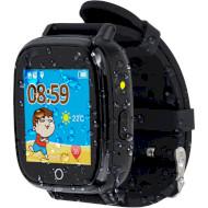 Годинник-телефон дитячий AMIGO GO001 Swimming Camera + LED Black