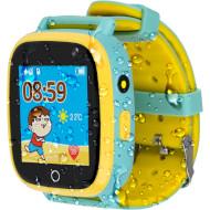 Годинник-телефон дитячий AMIGO GO001 Swimming Camera + LED Green