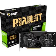 Відеокарта PALIT GeForce GTX 1660 Ti Dual OC (NE6166TS18J9-1160C)