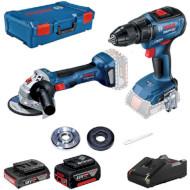 Набір електроінструментів BOSCH GSR 18V-50 + GWS 180-Li Professional (0.615.990.M47)