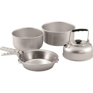 Набір посуду EASY CAMP Adventure Ultra Light Cook Set L Silver (580039)