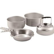 Набір посуду EASY CAMP Adventure Ultra Light Cook Set M Silver (580038)