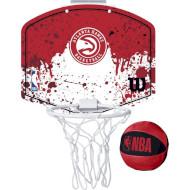 Набір баскетбольний WILSON NBA Team Mini Hoop Atlanta Hawks (WTBA1302ATL)