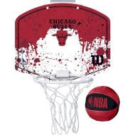 Набір баскетбольний WILSON NBA Team Mini Hoop Chicago Bulls (WTBA1302CHI)