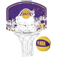 Набір баскетбольний WILSON NBA Team Mini Hoop Los Angeles Lakers (WTBA1302LAL)