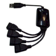 USB хаб LAPARA LA-UH803-A 4-Port (LA-UH803-A BLACK)