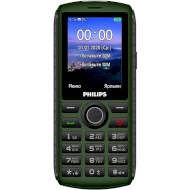 Мобільний телефон PHILIPS Xenium E218 Green