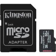 Карта пам'яті KINGSTON microSDHC Industrial 32GB UHS-I U3 V30 A1 Class 10 + SD-adapter (SDCIT2/32GB)