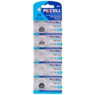 Батарейка PKCELL Lithium CR1220 5шт/уп (2000000217970)