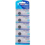 Батарейка PKCELL Lithium CR1225 5шт/уп (2000000217987)
