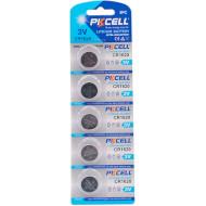 Батарейка PKCELL Lithium CR1620 5шт/уп (2000000218007)