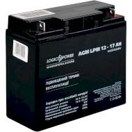 Автомобільний акумулятор LOGICPOWER AGM LPM для Mercedes 12В 17 Агод (LP10743)