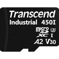 Карта пам'яті TRANSCEND microSDXC Industrial 64GB UHS-I U3 V30 A2 Class 10 (TS64GUSD450I)