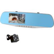 Автомобільний відеореєстратор AUTOBAN AVR-17S 2 Cam Silver