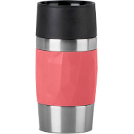 Термокружка TEFAL Compact Mug Red 0.3л (N2160410)