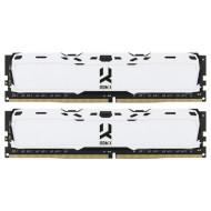 Модуль пам'яті GOODRAM IRDM X White DDR4 3200MHz 16GB Kit 2x8GB (IR-XW3200D464L16SA/16GDC)