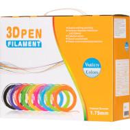 Набір ниток DEWANG PLA для 3D ручки 20 кольорів