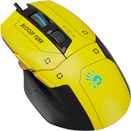 Миша A4-Tech BLOODY W70 Max Punk Yellow