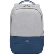 Рюкзак RIVACASE Prater 7567 Gray/Dark Blue