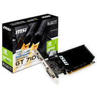 Видеокарта MSI GeForce GT 710 2GB GDDR3 64-bit Silent LP (GT 710 2GD3H LP)