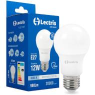 Лампочка LED LECTRIS A60 E27 12W 4000K 220V (1-LC-1107)