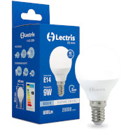 Лампочка LED LECTRIS E14 9W 4000K 220V (1-LC-1205)
