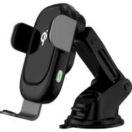 Автотримач для смартфона з бездротовою зарядкою LOGAN CWC-1