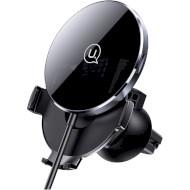 Автотримач для смартфона з бездротовою зарядкою USAMS US-CD164