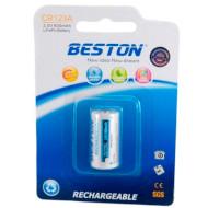 Акумулятор BESTON CR123A (16340) 600mAh (AAB1844)