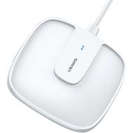 Бездротовий зарядний пристрій USAMS US-CD159 W1 Extra-thin Magnetic Fast Wireless Charger White (CD159DZ02)
