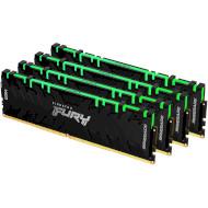 Модуль пам'яті KINGSTON FURY Renegade RGB DDR4 3600MHz 32GB Kit 4x8GB (KF436C16RBAK4/32)