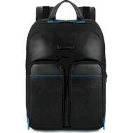 """Рюкзак PIQUADRO B2 Revamp 14"""" RFID Black (CA5575B2V-N)"""