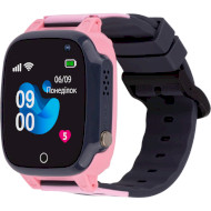Годинник-телефон дитячий AMIGO GO008 Milky GPS Wi-Fi Pink