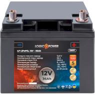 Автомобільний акумулятор LOGICPOWER LiFePO4 12В 36 Агод (LP12637)