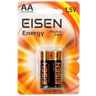 Батарейка EISEN Alkaline Pro AA 2шт/уп (016501)