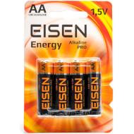 Батарейка EISEN Alkaline Pro AA 4шт/уп (016500)