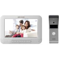 Комплект відеодомофона HIKVISION DS-KIS203T + DS-KB2421T-IM