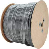 Кабель мережевий для зовнішньої прокладки INFOCORD UTP Cat.5e КНП 4x2x0.50 ССА Black 305м