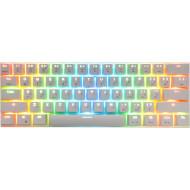 Клавіатура бездротова MOTOSPEED CK62 Red Switch White (MTCK62WMR)
