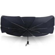 Автомобільна сонцезахисна шторка USAMS US-ZB235 Car Windshield Sunshade Umbrella Black (CZZYS01)