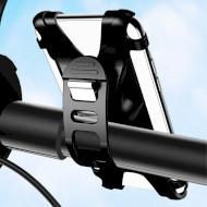 Велотримач для смартфона USAMS US-ZJ053 Bicycle Silicon Phone Holder Black (ZJ53ZJ01)